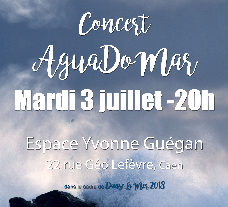 Danse la Mer / Agua do Mar, concert