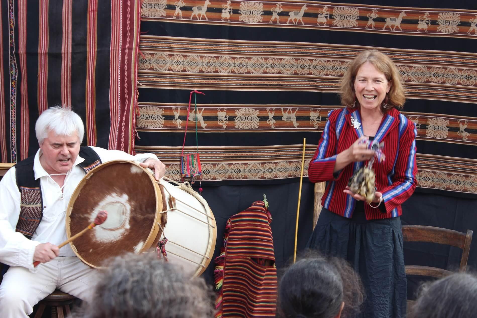 Des Andes à l'Amazonie, contes et musique #1