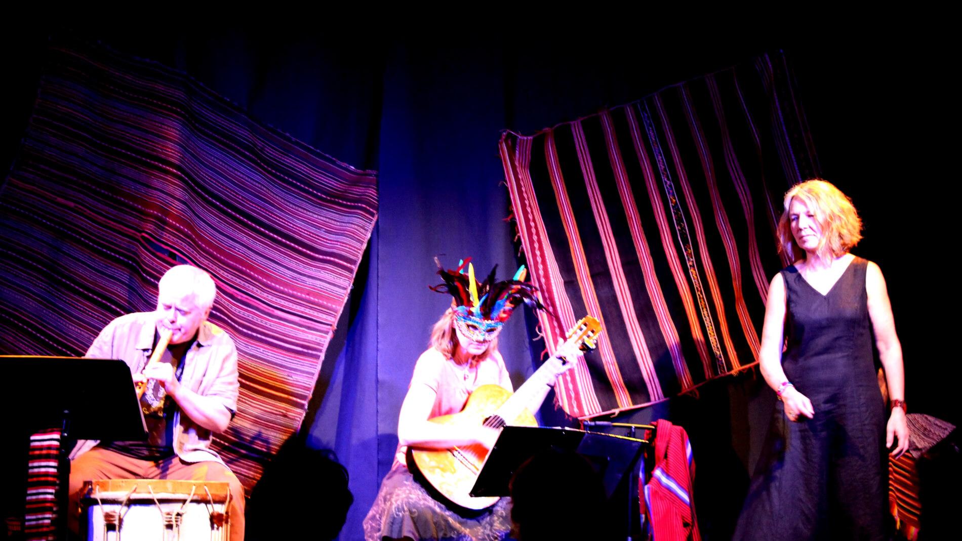Festival  G'Art en Fête, Huchi Manta, des histoires et des musiques pour partir en voyage dans les Andes