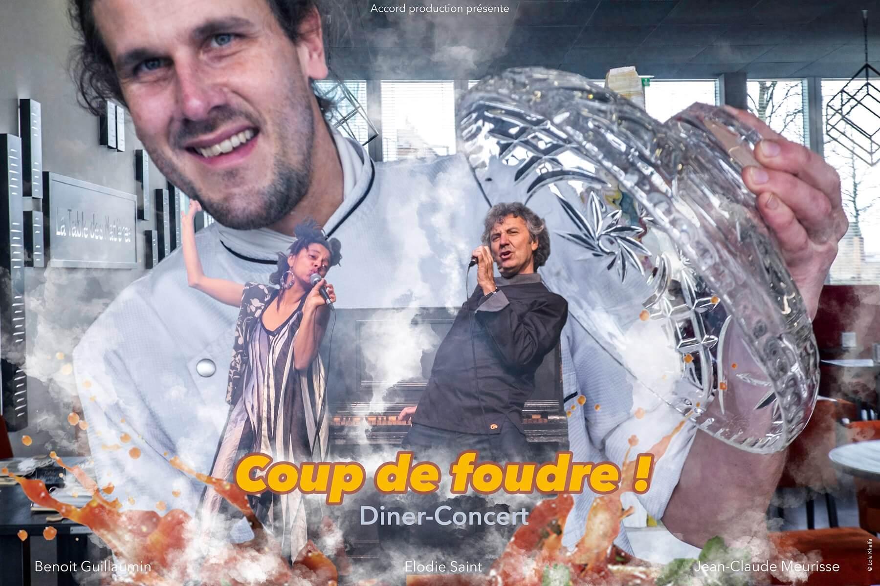 Dîner concert Coup de Foudre