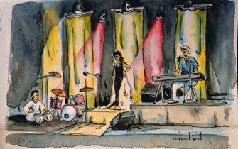 Couleur Terre#1 et Insa Sané en concert. Soirée de soutien à SOS Méditerranée