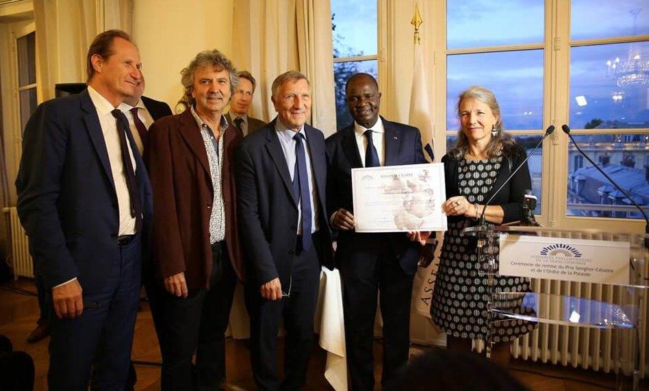 Chansons sans Frontières lauréat du Prix Senghor–Césaire de l'APF