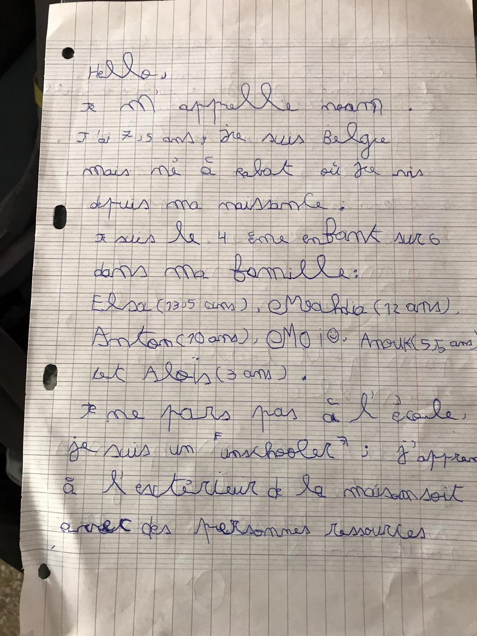 noam lettre
