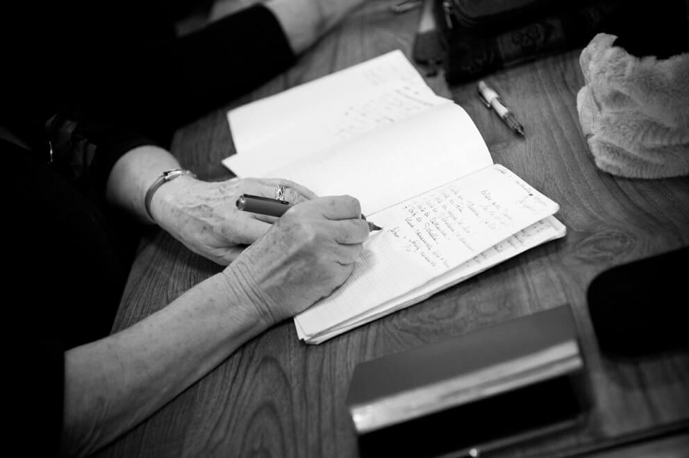 «Encre tes mots», atelier d'écriture en visio