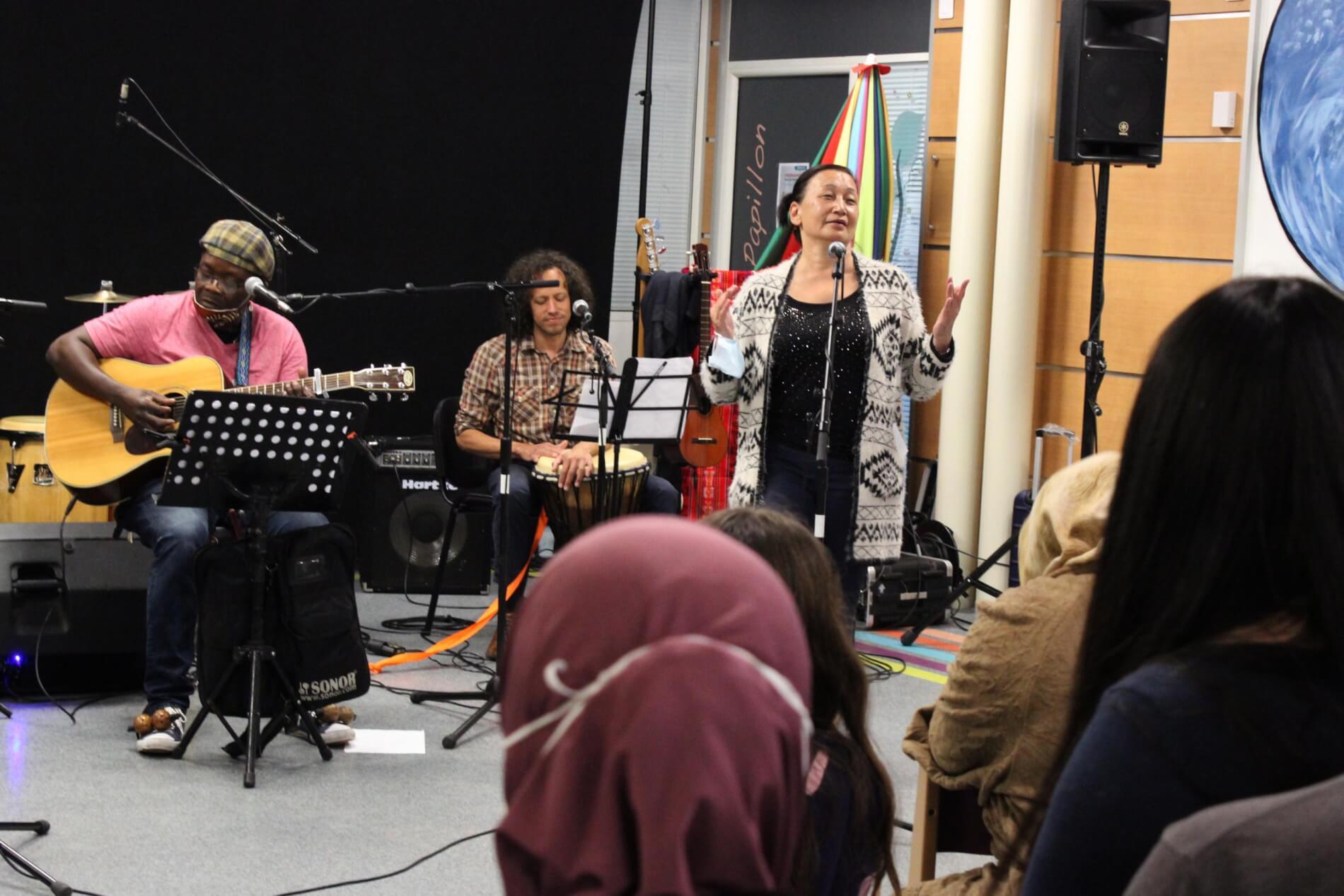 Chanter en français du monde, concert avec Couleur Terre
